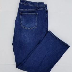 Talbots Barely Boot High Waist Jean Women Size 20W
